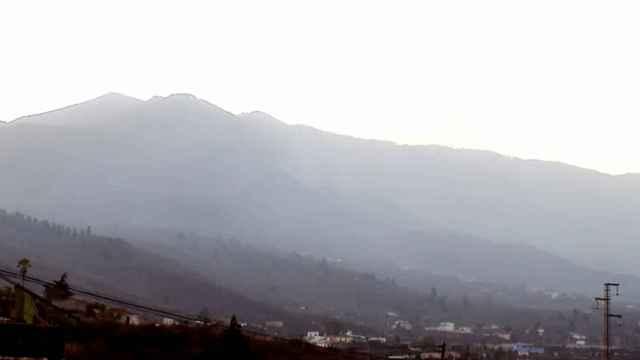 Imagen del volcán Cumbre Vieja, en La Palma, sin actividad.