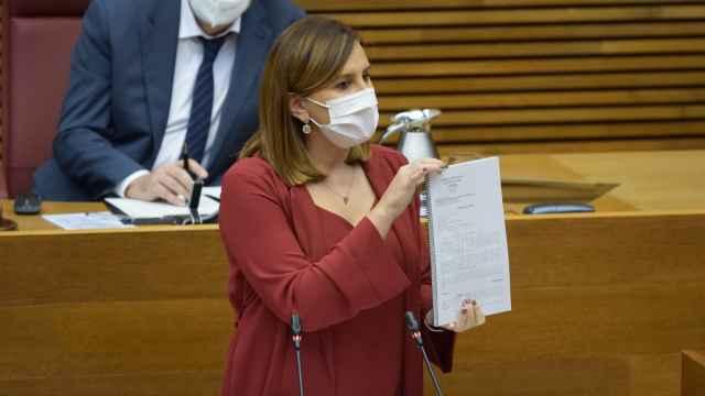 Catalá exhibe la sentencia del TSJCV que afea la gestión de la Generalitat ante los abusos del ex de Oltra. EE