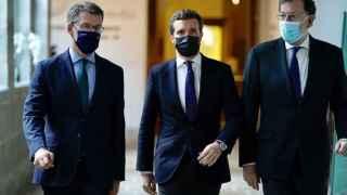 Rajoy pide a Casado que reforme las pensiones: 'Igual te hacen una huelga, pero no te va a queda otra'