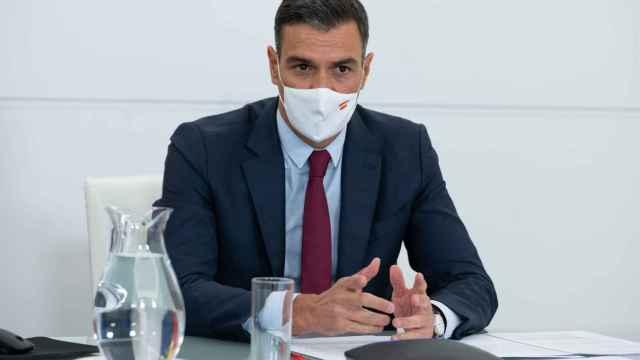 El presidente del Gobierno, Pedro Sánchez, participa en el Diálogo Estratégico de País organizado por el Foro Económico Mundial.