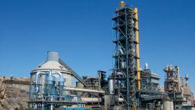 La fábrica de cemento de La Araña