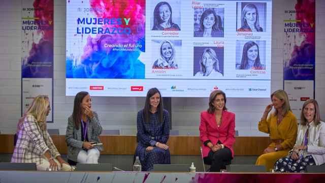 María Helena Antolín, Beatriz Corredor, Patricia Cortizas, Pilar López, Laura Ros y Marieta Jiménez.