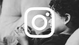 Logo de Instagram con un niño