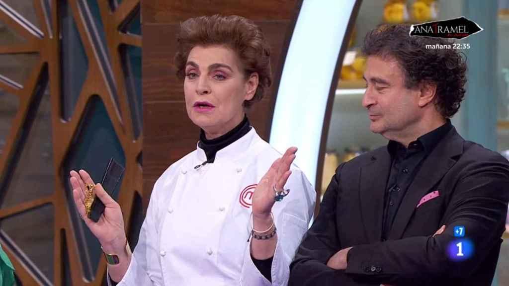 La reaparición de Antonia Dell'Atte en TVE.