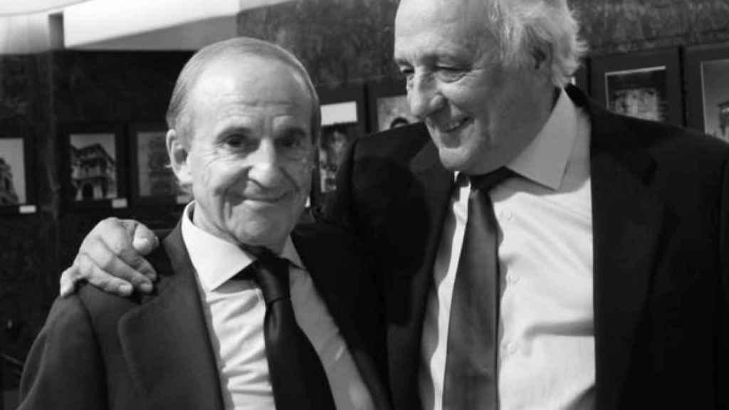 Raúl del Pozo y José María García, Patronos de Honor de la Fundación Godofredo Garabito