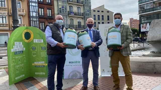 Presentación de la campaña en la Plaza de España