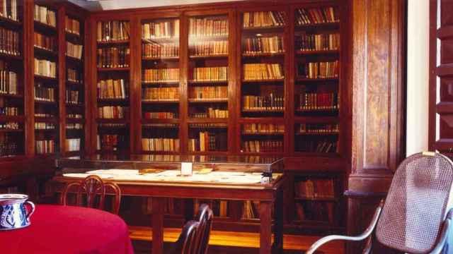 Dependencias de la Casa Museo Unamuno en la calle Libreros