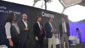 Uriarte, Girauta, Casado, Vidal Quadras y De Ramón en Valladolid
