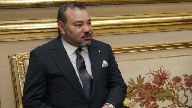 El rey de Marruecos, Mohamed VI, en una imagen de archivo.