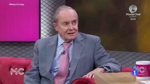 José Antonio Maldonado fue 'hombre del tiempo' de TVE durante 23 años.