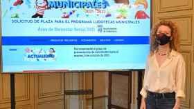 La concejala de Familia e Igualdad de Oportunidades, Ana Suárez