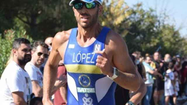 Fran López, campeón del mundo de cuadriatlón