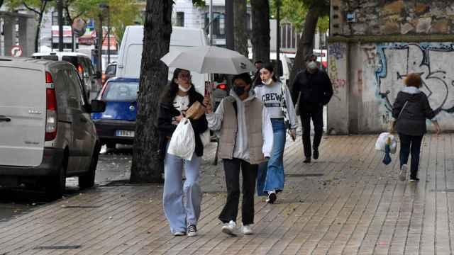 Tiempo de lluvia en Castilla y León