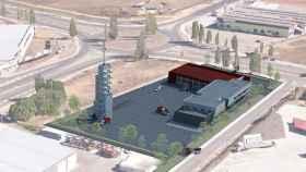 Plano del nuevo parque de bomberos de Zamora