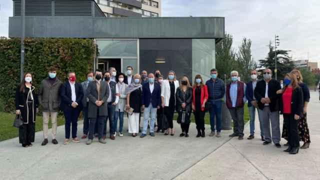 Los populares zamoranos acuden a la Convención Nacional del PP en Valladolid