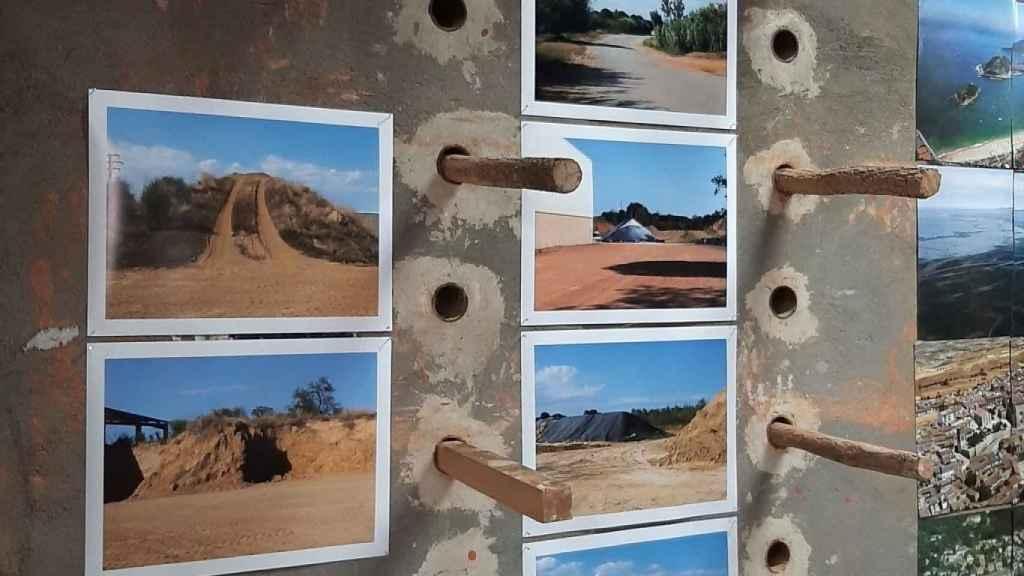 Un fragmento de la exposición de Cristina Zelich
