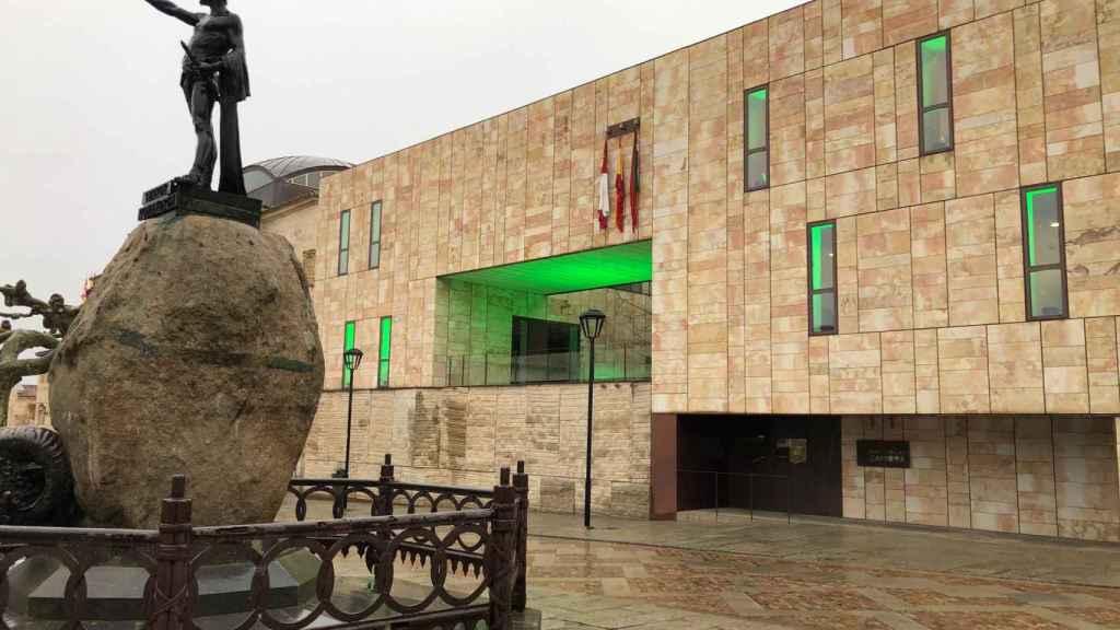 Fachada de la Diputación de Zamora