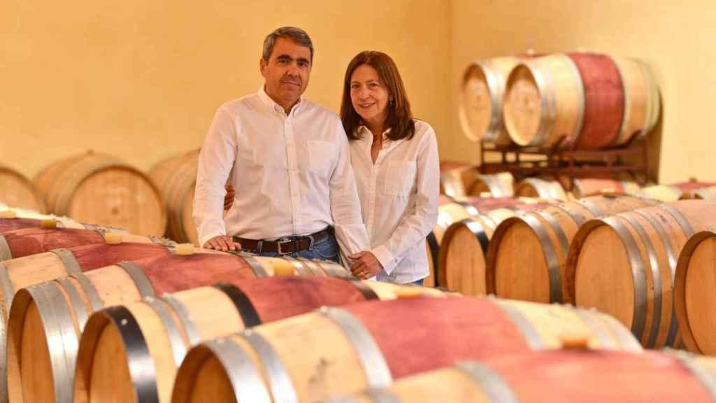 Miguel Ángel Alonso y María José Galera, propietarios de Fuentes del Silencio.