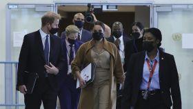 Harry y Meghan, protegidos por los guardaespaldas de Tylor Swift en su viaje a Nueva York