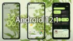 Primeras imágene de Android 12.1