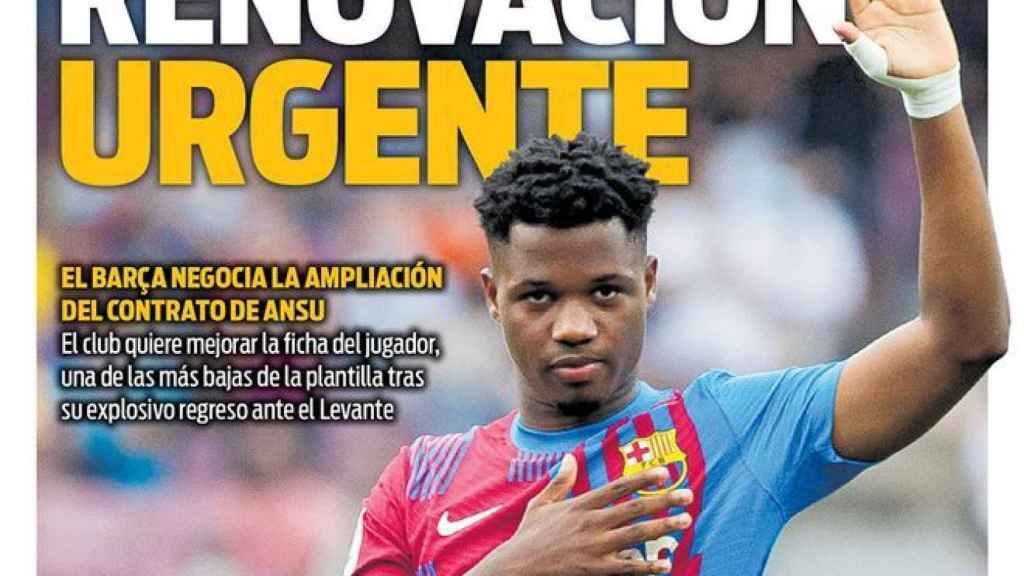 Portada Sport (28/09/21)