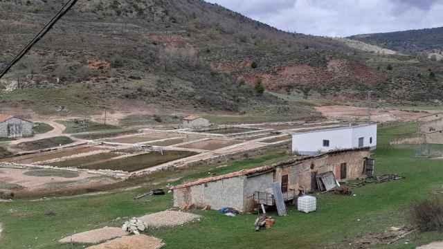 El conjunto salinero romano de Salinas del Manzano.