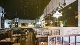 El interior del nuevo restaurante Ginos en Talavera de la Reina.
