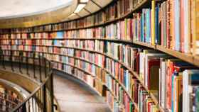 Una biblioteca.
