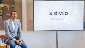 Juan Guruceta, fundador y consejero delegado de Divilo, durante la presentación.