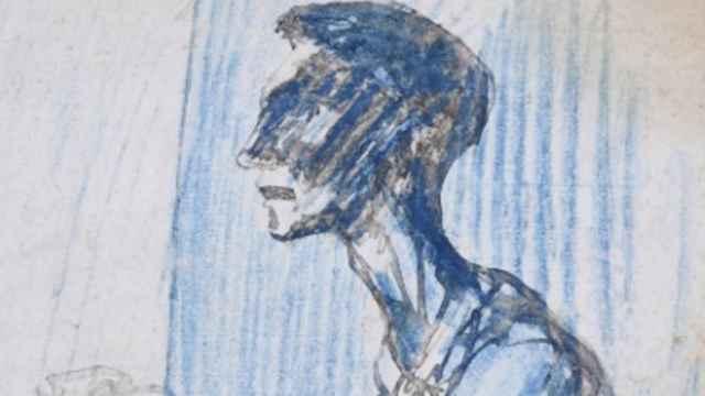 Detalle de la obra de Picasso que saldrá a subasta.