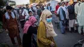 Dos mujeres en Mujeres en Afganistán. DPA