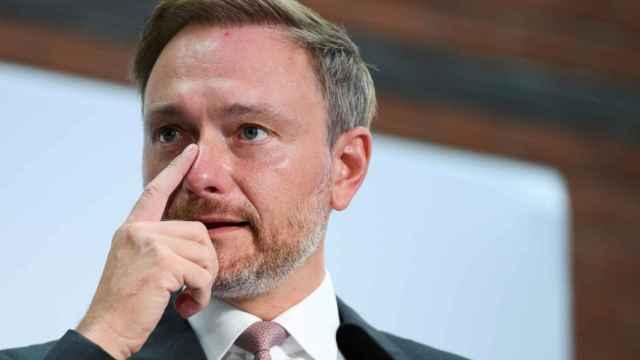 El líder de los liberales alemanes, Christian Lindner.