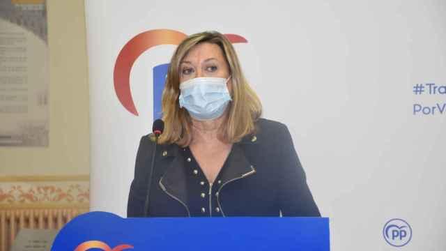 La presidenta del Grupo Municipal Popular, Pilar del Olmo