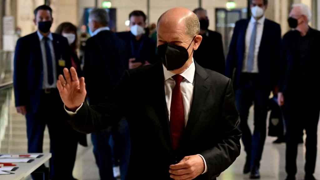 El líder del SPD y vicecanciller de Angela Merkel, Olaf Scholz.