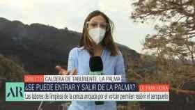 Miriam Jiménez ha recibido una reprimenda de la Guardia Civil en directo.