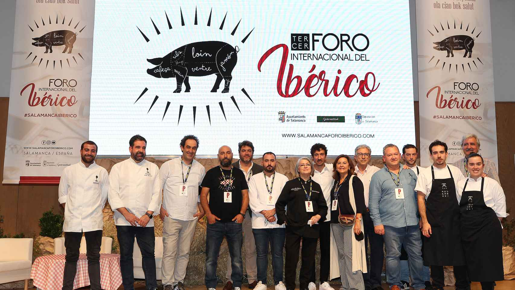Imágenes resumen del III Foro Internacional del Ibérico de Salamanca
