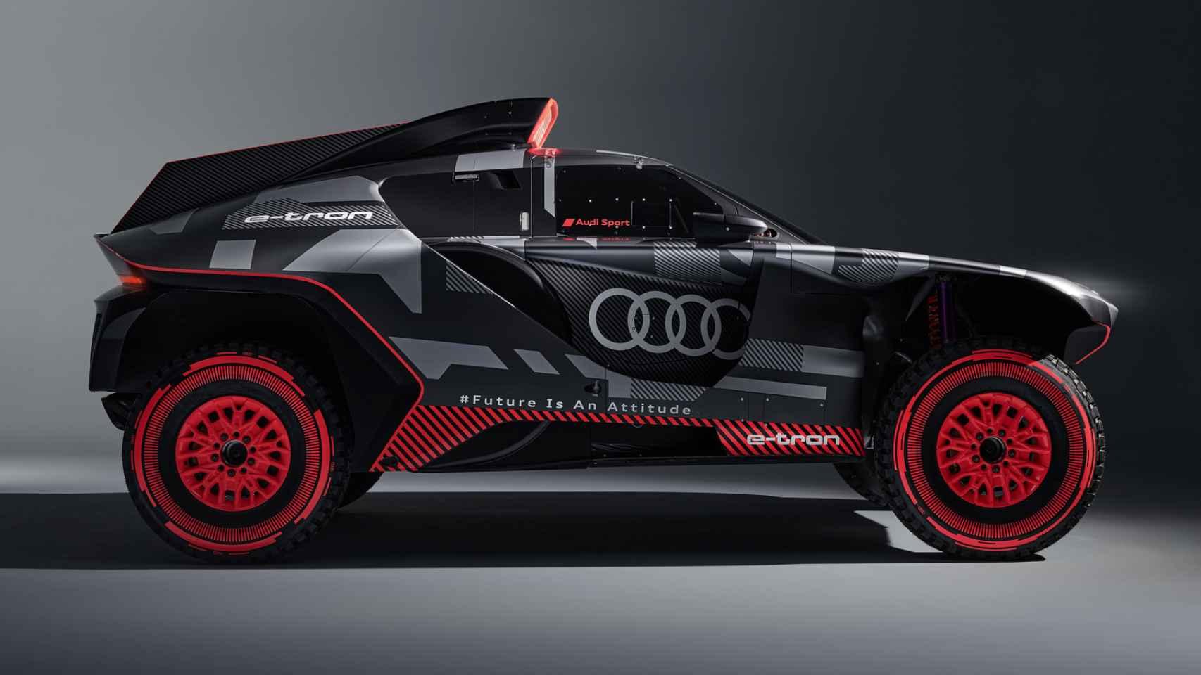 Así es el nuevo coche de Carlos Sainz para el Dakar