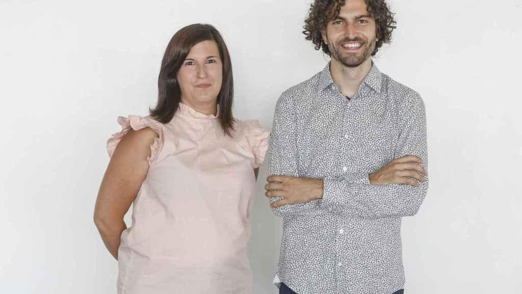 Marina Ruiz y Jordi Boix, cofundadores de Psonríe.