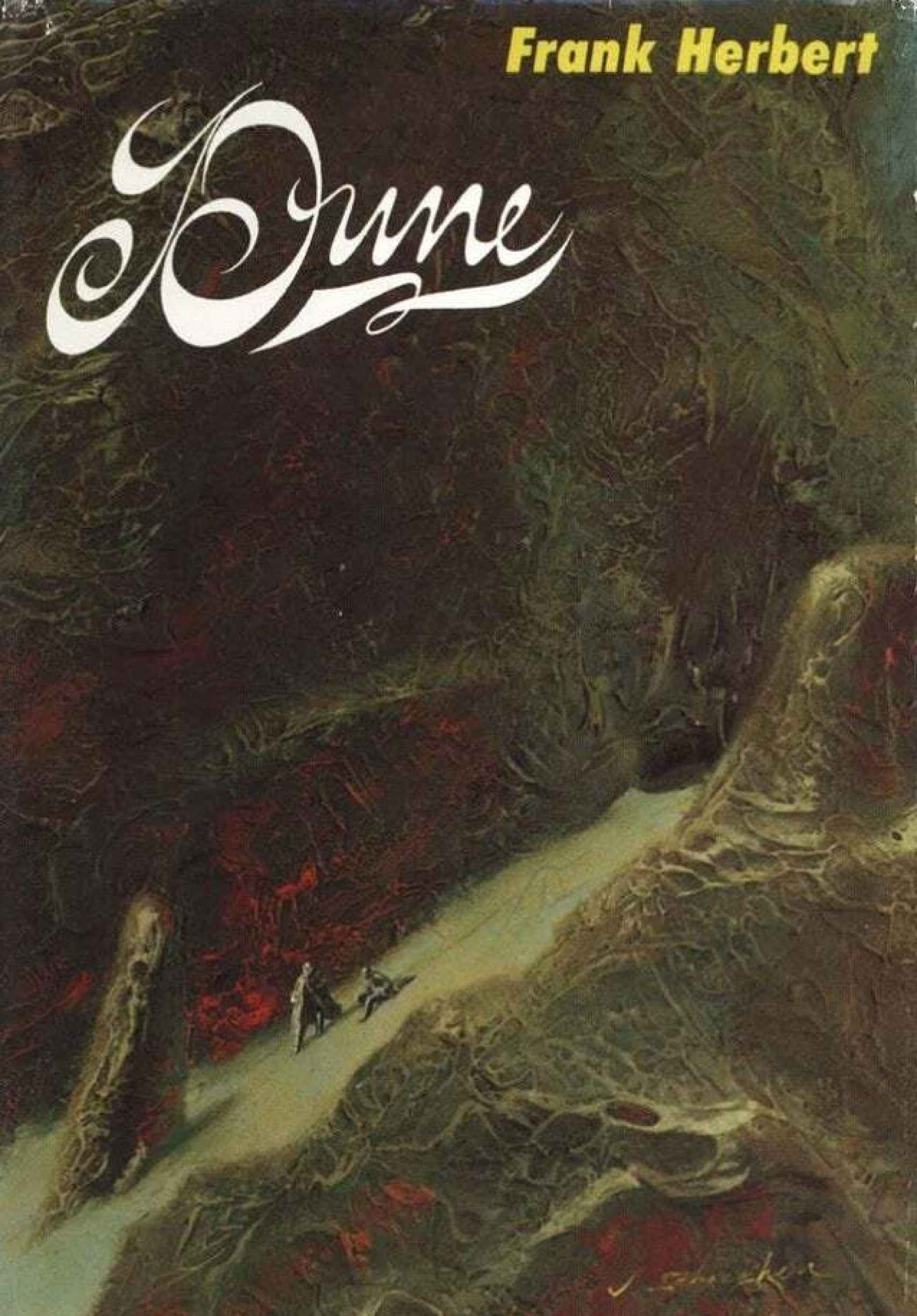 Portada de la primera edición de 'Dune'.