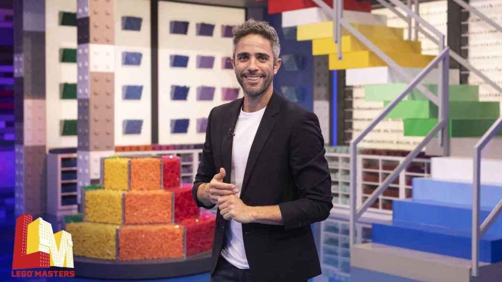 Roberto Leal será el presentador de 'LEGO Masters'.