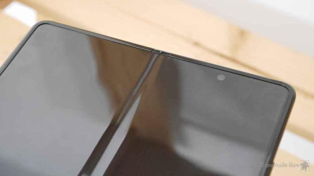 La pantalla del Samsung Galaxy Z Fold 3 sigue mostrando una arruga en su parte central