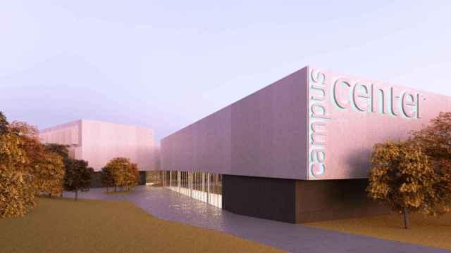 Diseño del futuro 'Campus Center' de la Universidad de Málaga.