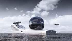 Así es el Earth 300, un superyate para estudiar los océanos.