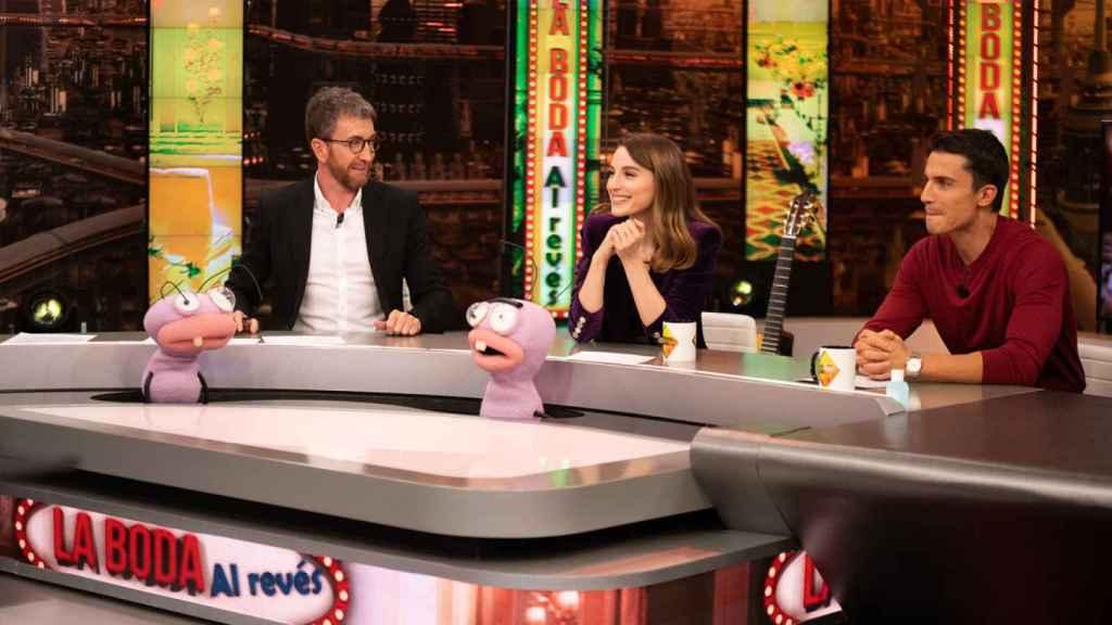 Pablo Motos entrevista a María Valverde y Álex González.