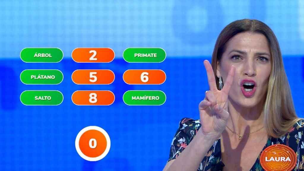 Quién es Laura Sánchez, la actriz que va hoy a 'Pasapalabra' (y que ya concursó en 'MasterChef')