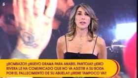 La presentadora ha cuestionado la decisión de Anabel.