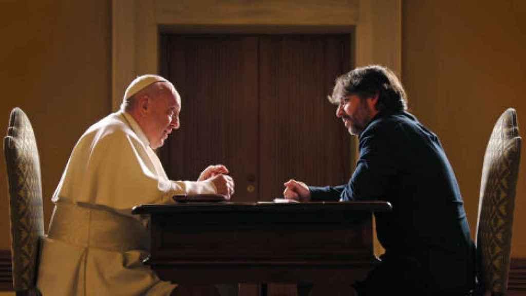 Jordi Évole entrevistó al papa Francisco en 'Salvados'.