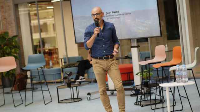 Juan Bueno, coordinador de Mobility Hub de Startup Valencia.