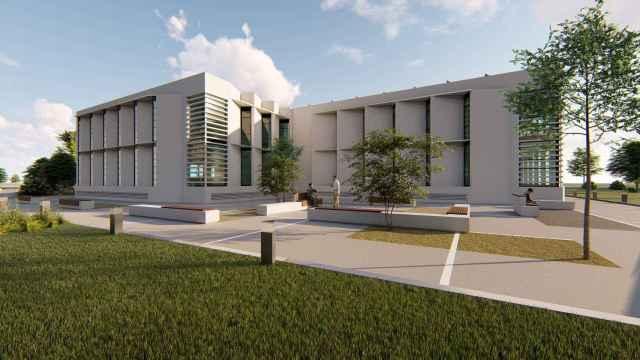 Diseño de Salvador Moreno Peralta para algunos de los nuevos edificios proyectados en el Málaga TechPark.