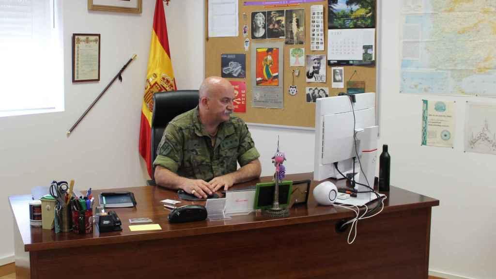 Félix Hernanz, Coronel de Transmisiones del Ejército de Tierra y jefe del CEPRUVAL.